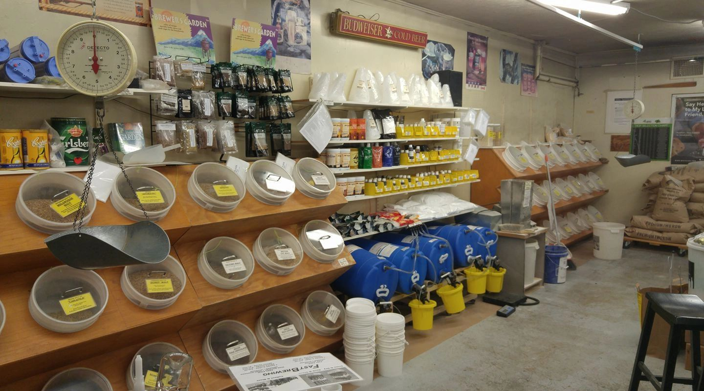 Home Brewing Supply Store