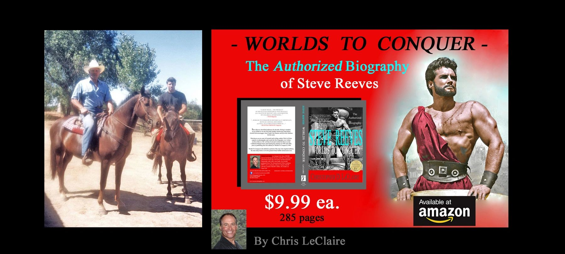 Steve Reeves photo, biography of actor and bodybuilder