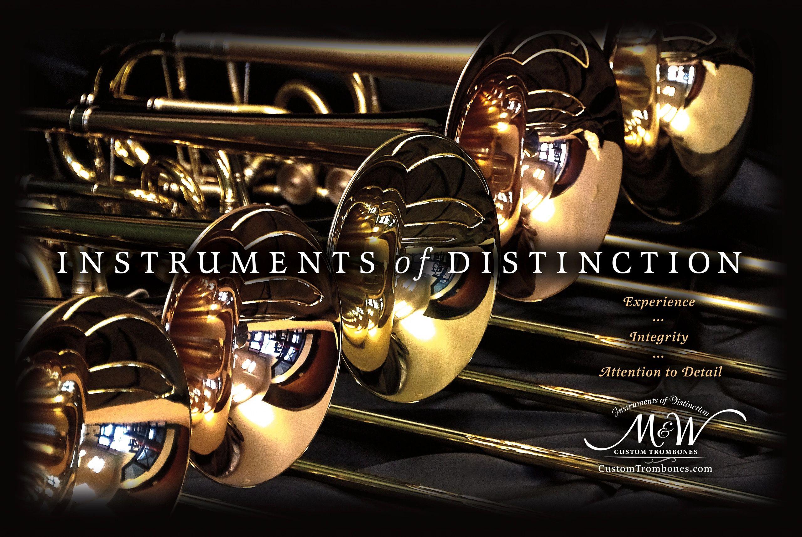Our Products - M&W Custom Trombones | M&W Custom Trombones