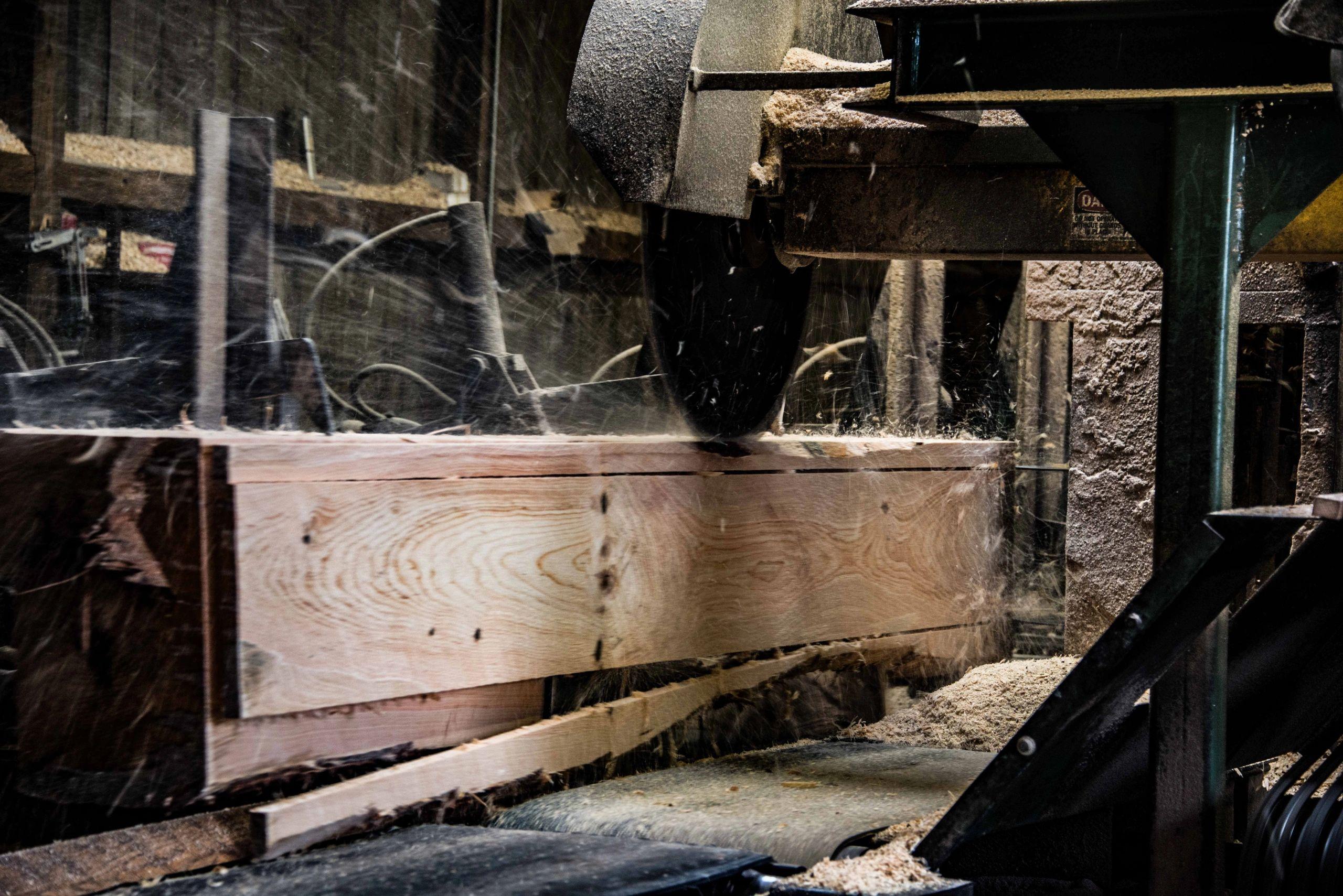 Gurneys Saw Mill Inc - Sawmill, Lumber, Wood