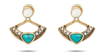 2 in 1 earrings, convertible chloe and isabel