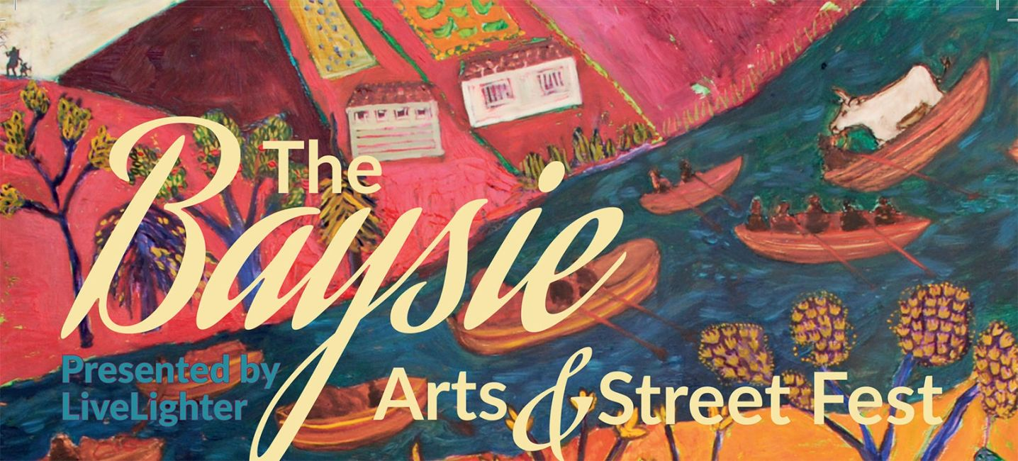 The Baysie Arts & Street Fest poster