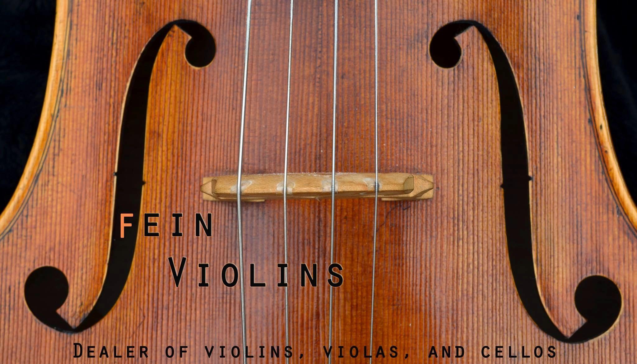 Fein Violins, Ltd  - Stradivarius Model, Violins, Violas, Cellos