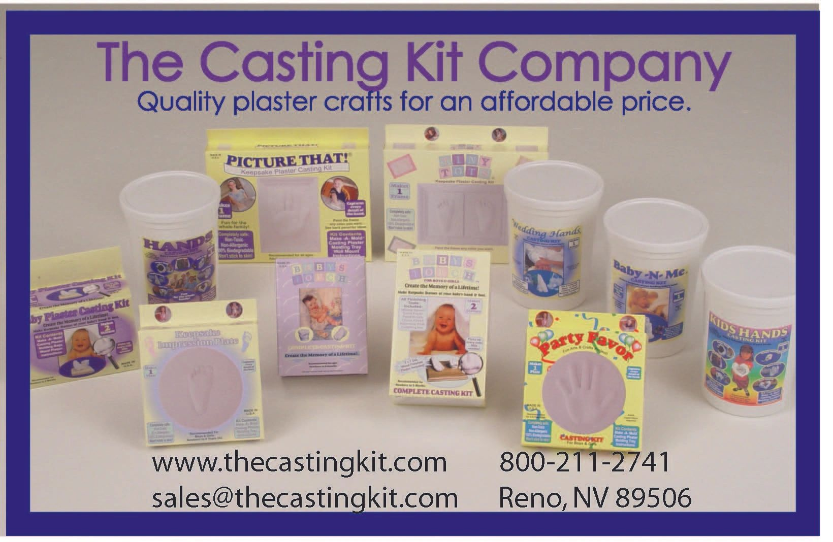 Art and Craft - The Casting Kit Company