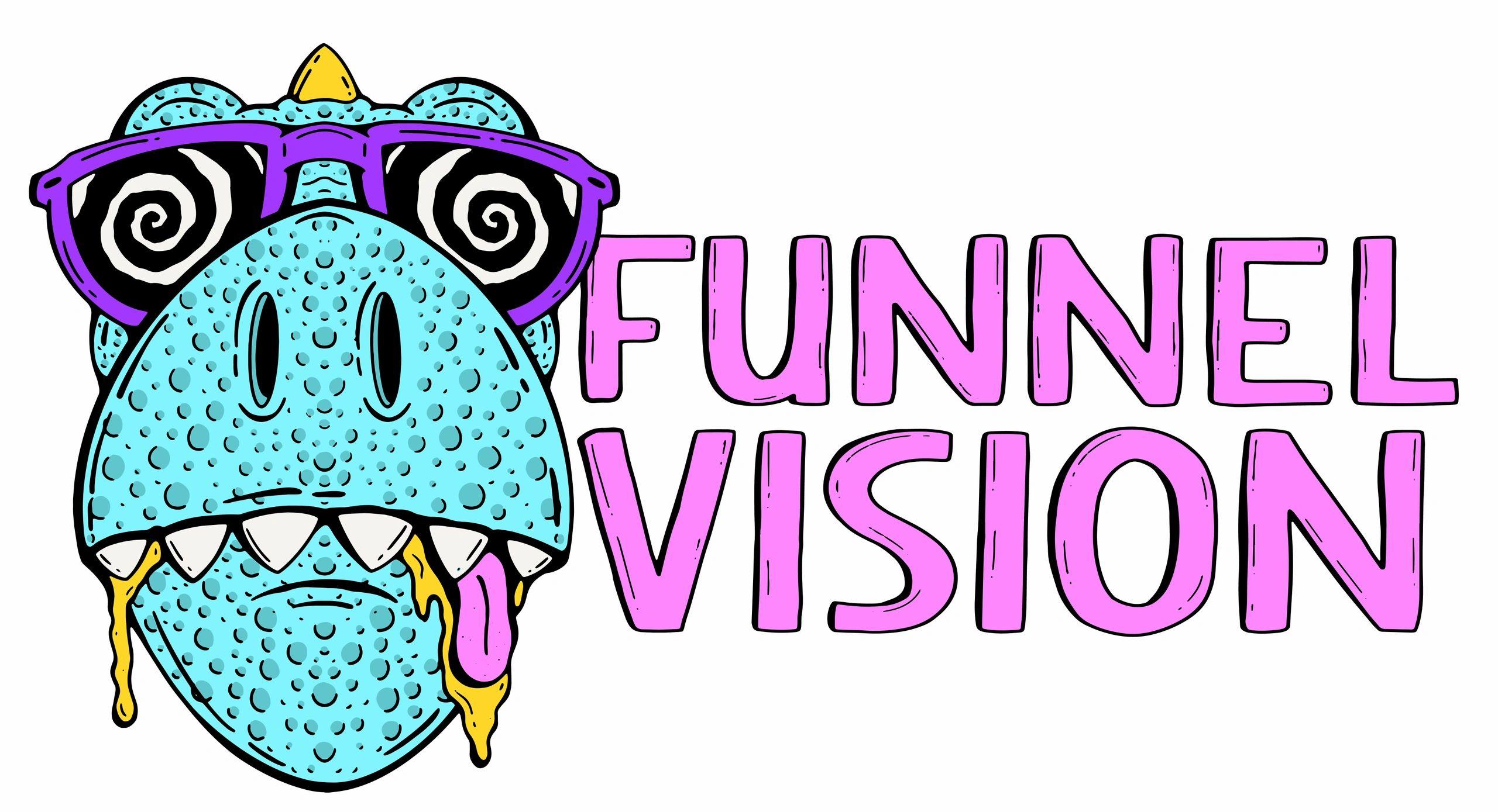 Funnel Vision Intro Effects Round 1 vs Rj Kumar, Megan ... |Funnel Vision Logo