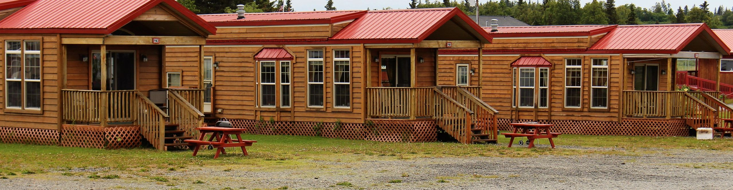 Alaskan Anglers RV Park - Home on rustic bunkhouse plans, large bunkhouse plans, park model plans, rv houses inside, camper plans, rv floor plan of s, rv floor plan for 20, kingsley coach plans, type a school bus conversion plans,