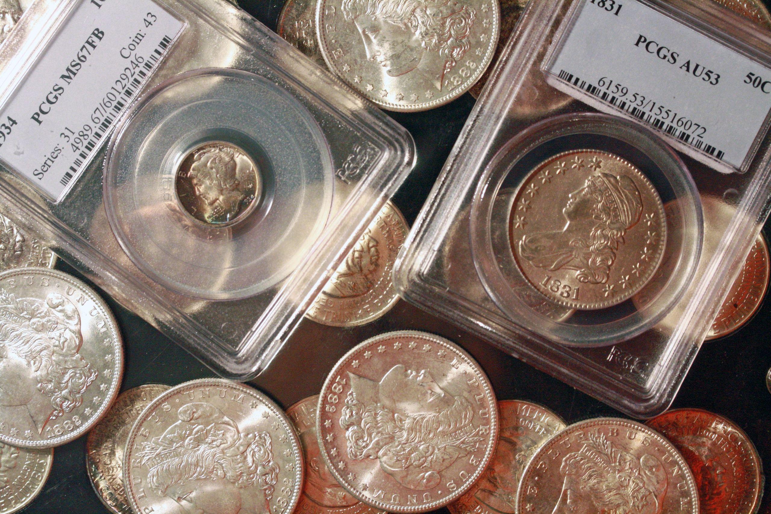 Raines Rare Coins, LLC  - Rare Coins, Morgan Dollars, Coin Dealer