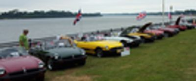 British Car Day on the River