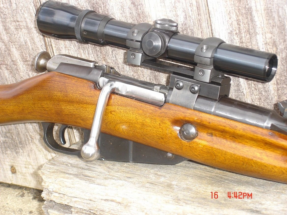 Jmeck Scope Mounts - Mosin Nagant Scope Mounts, PPS 43 Scope Mounts