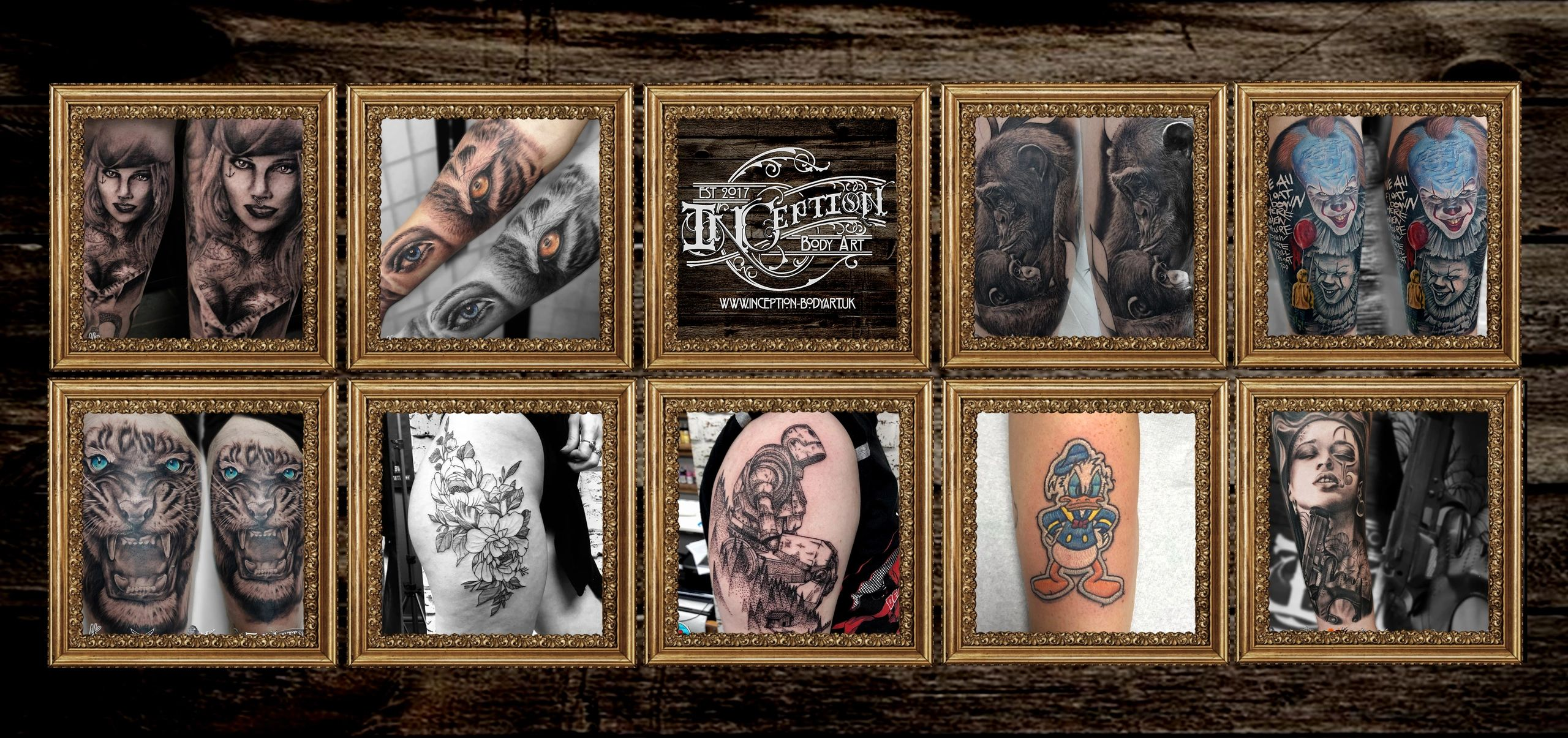 Inception Body Art Tattoos Custom Art And Laser Tattoo Removal