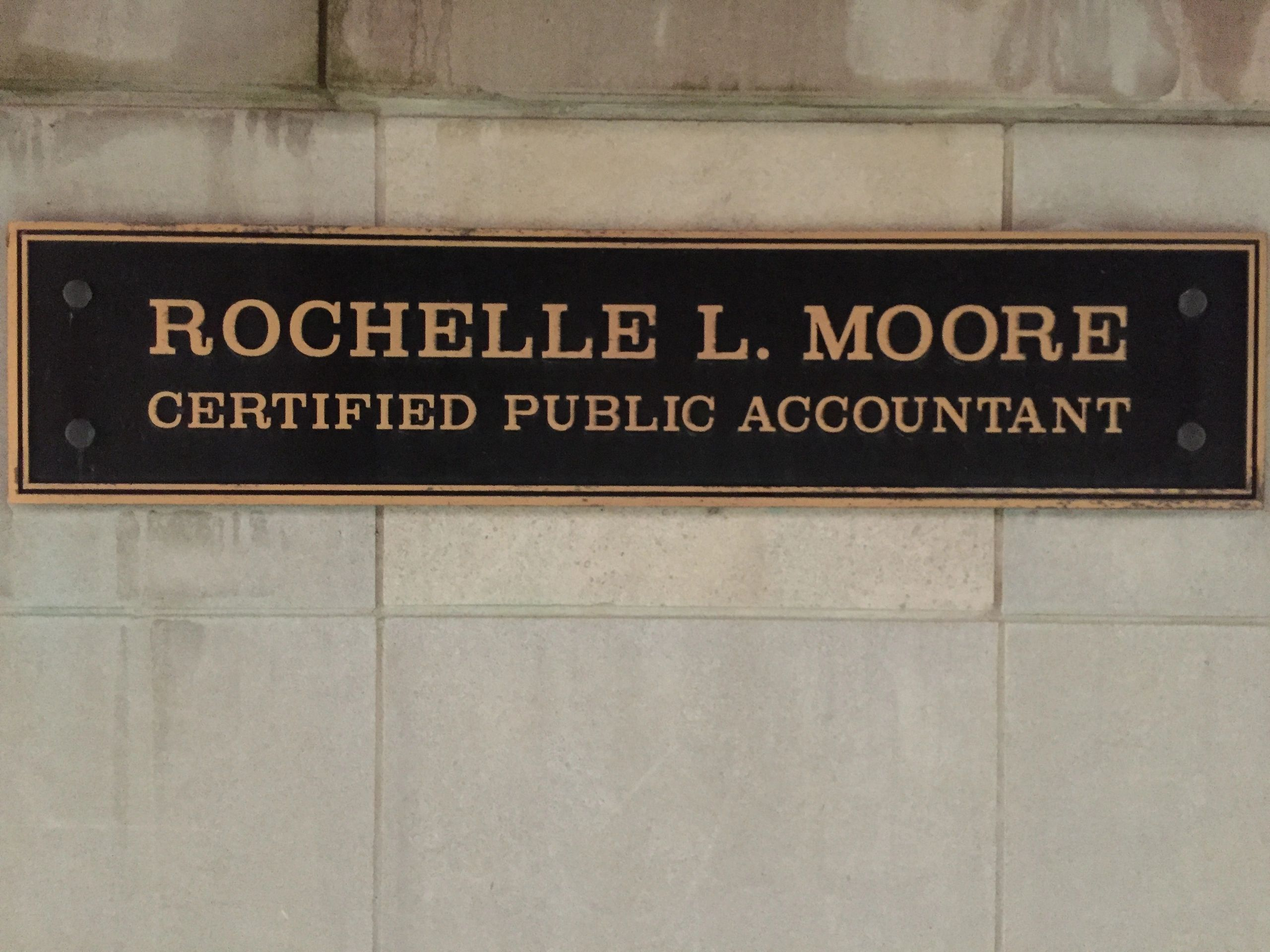 Save Moore Tax Accounting Services Inc Rochelle L Moore