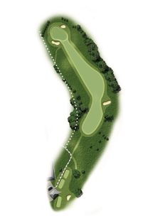 The first hole at Haverhill golf club