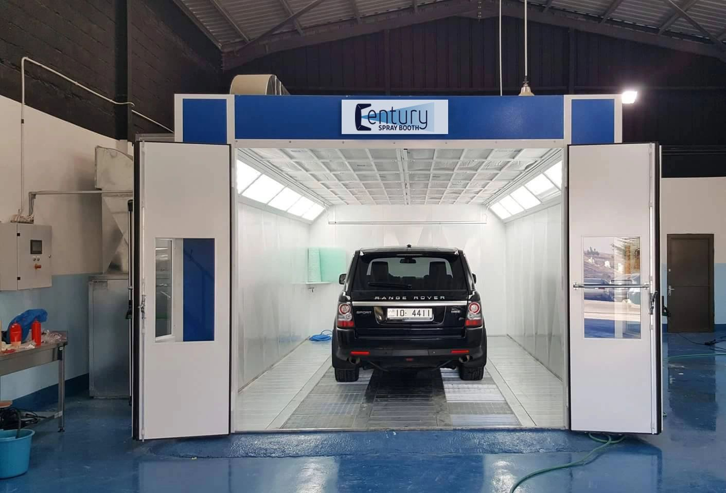 Downdraft Paint Booths for Sale | Century Spray Booth
