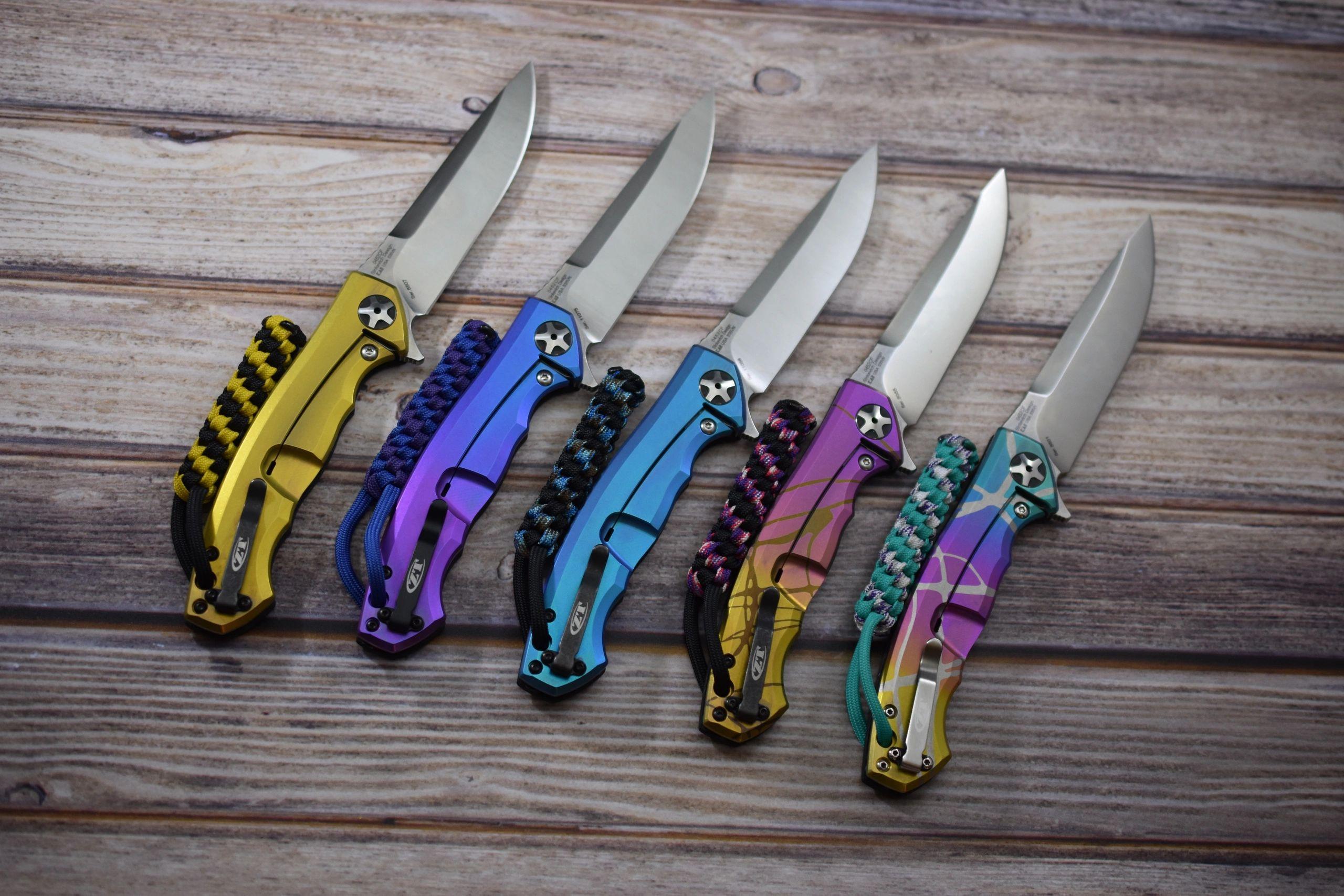 JD Cutlery - Anodized Knives, Reate Knives, Zero Tolerance