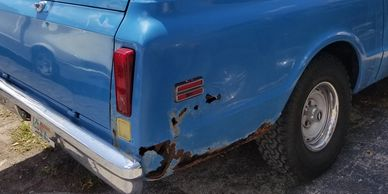 We also do rust repair