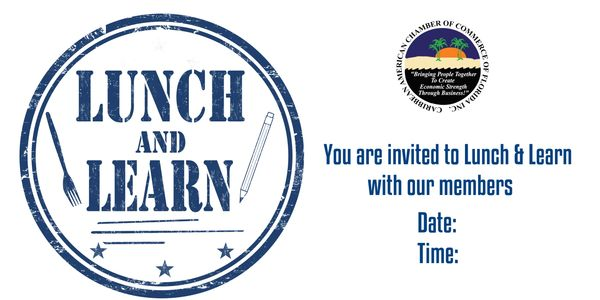 CACCF provides monthly Lunch and Learn Events geared at empowering our members through education.