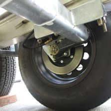 Trailer Axles, Hubs, Brakes, Bearings, Leaf Springs, U-Bolts & Shackles