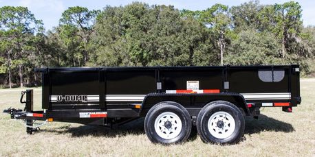 U-Dump Low Profile Dump Trailer