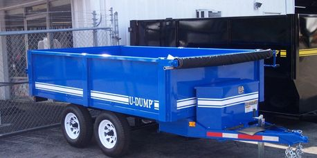 U-Dump Deck Over Dump Trailer