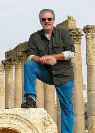 Rob Bollinger In the Ancient City of Gerasa, Jordan