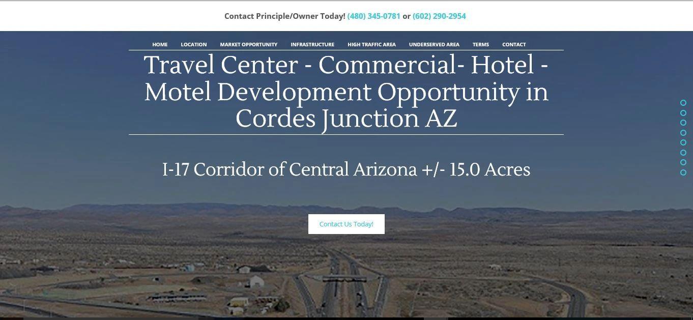 High Interstate Traffic | Cordes Land Sales