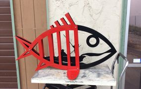 ABSTRACT STEEL FISH