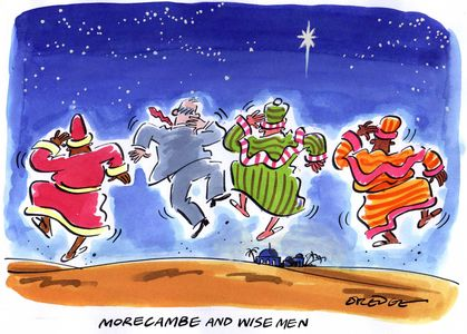 Private Eye Christmas Card 2000