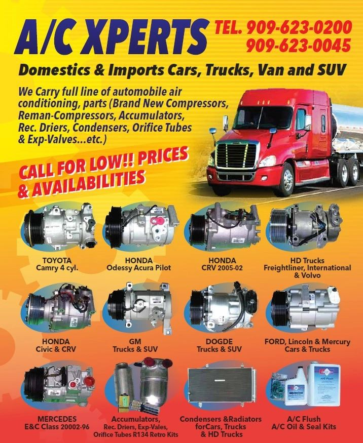 Ac Auto Parts >> Ac Xperts Auto Air Conditioning Auto Parts A C Compressor