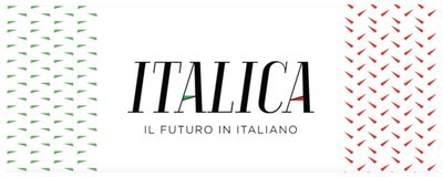 Logo Italica canal do YouTube