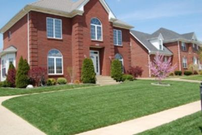 Nice house with amazing lawncare