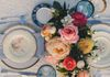 Make a statement with a your tablescape. Centerpieces add color and elegance to any table.