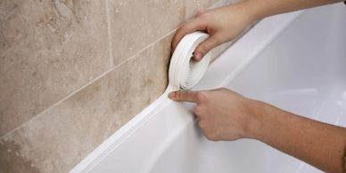 Bathroom sealing in Stockport, Manchester | Bathroom Improvement Handyman | Handyman Service in Manc