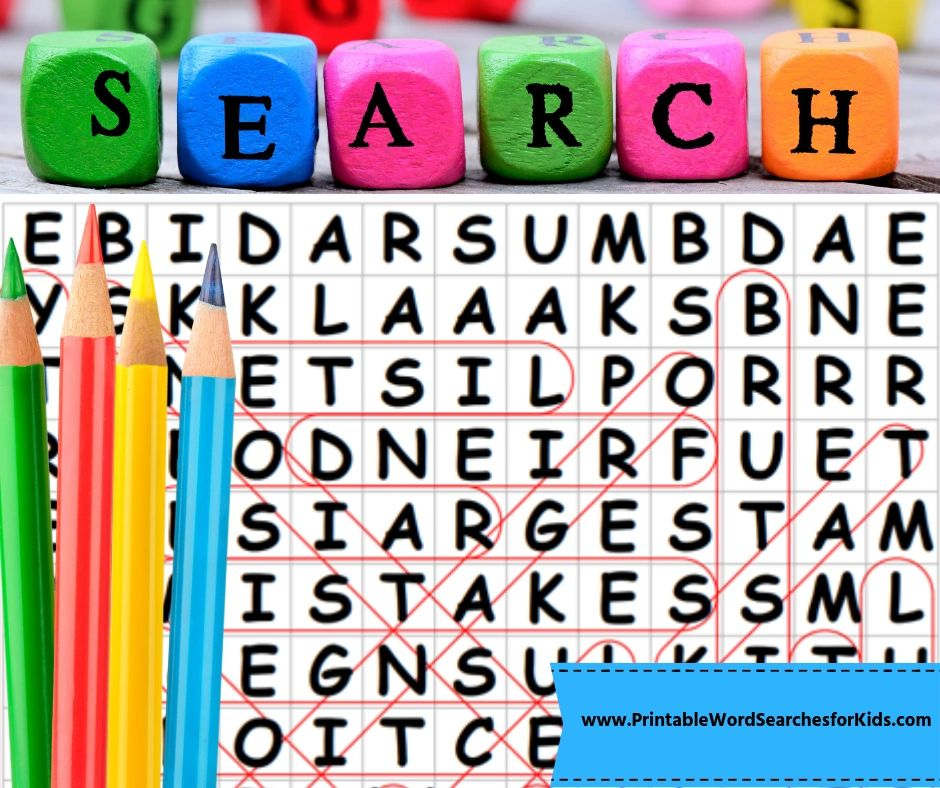 photograph about Printable Word Search for Kids referred to as Printable Phrase Lookups for Little ones - Phrase Queries Children