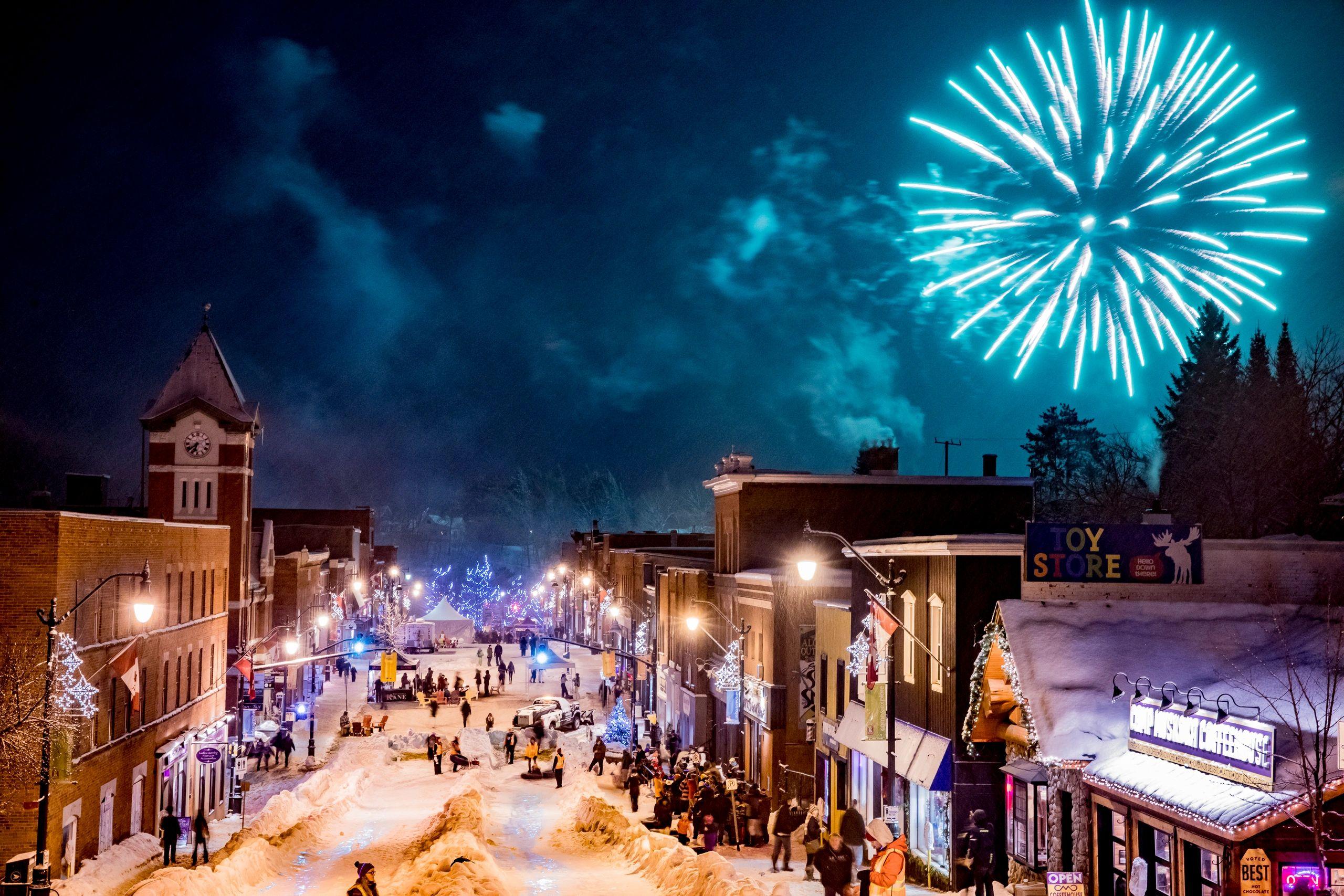 Image result for Bracebridge Fire & Ice Festival