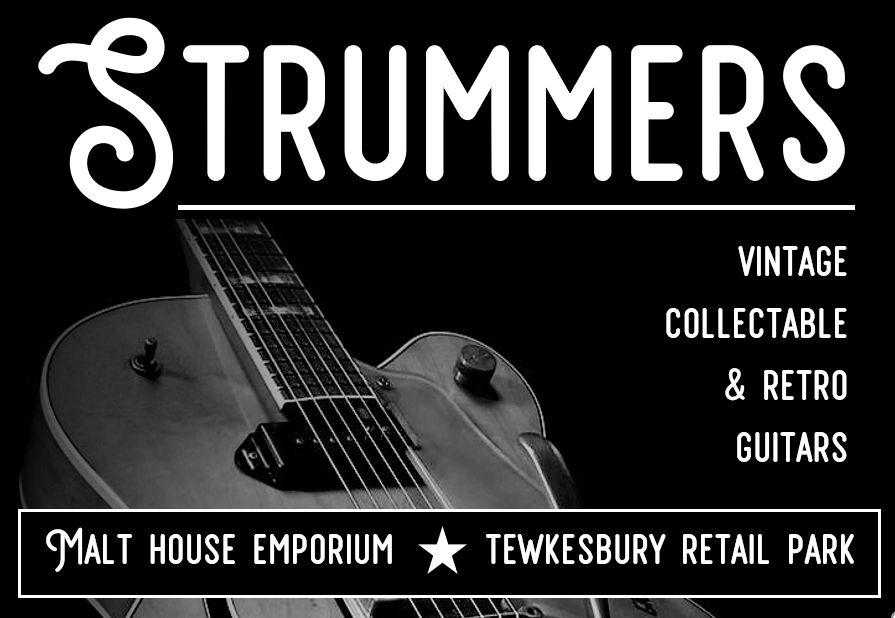 Strummers | Strummers Guitar Shop | Teweksbury