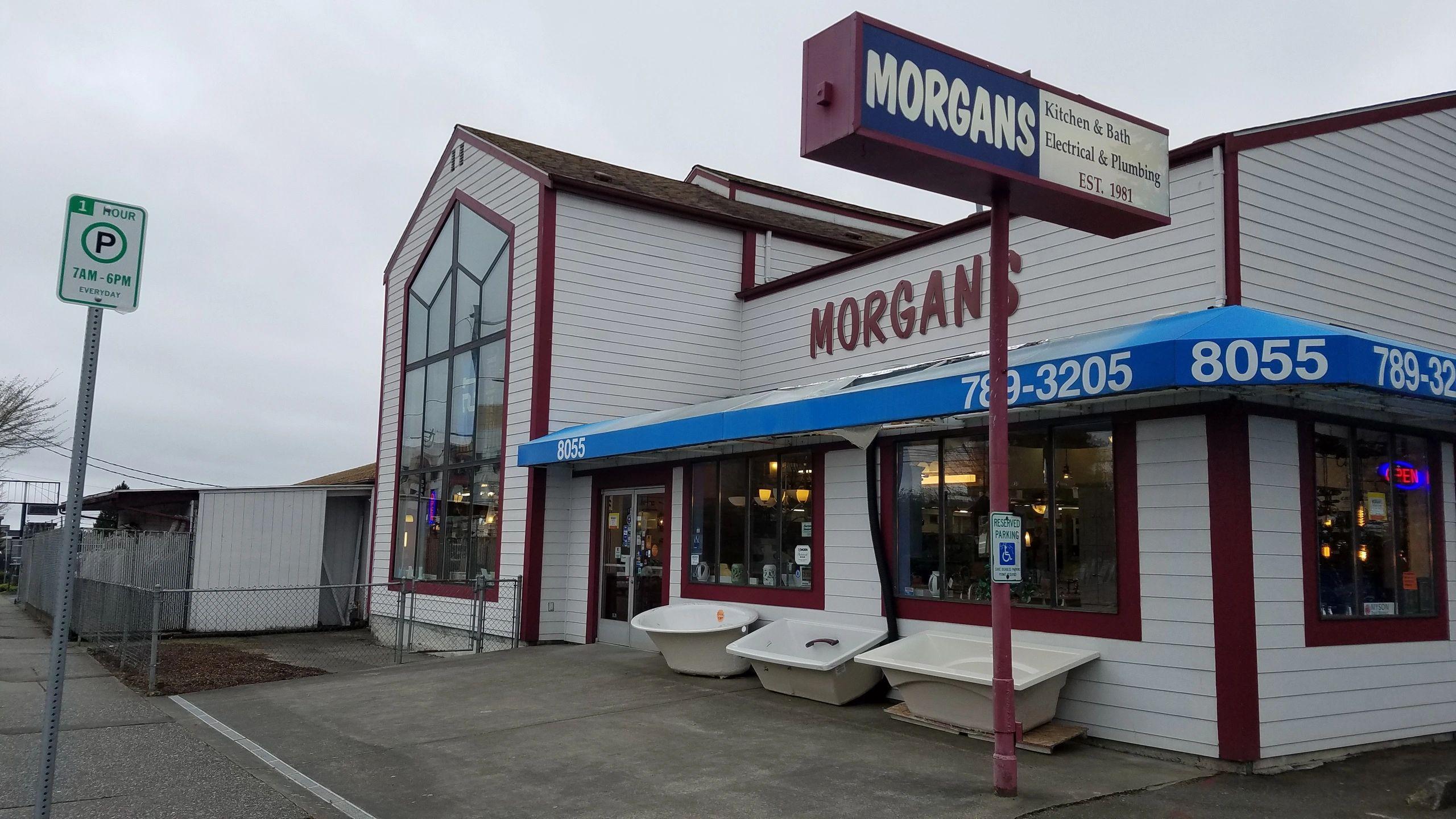 morgans kitchen, bath, electric & plumbing - home