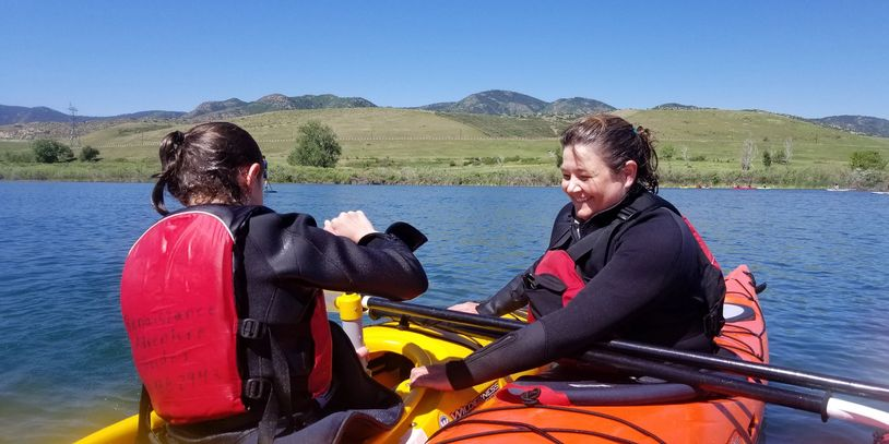 Sea kayaking instruction in Colorado with certified instructors.