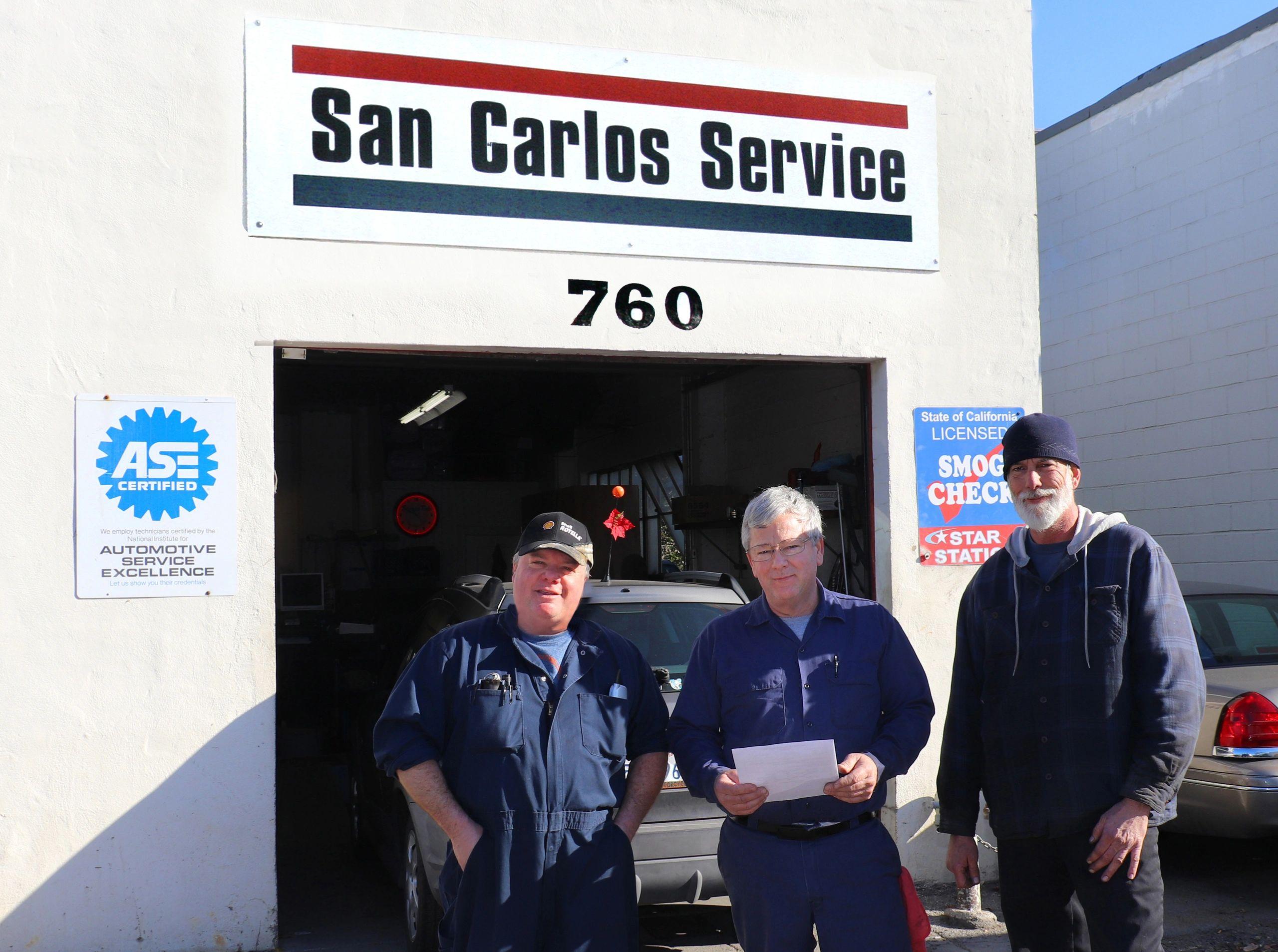 Carlos Auto Repair >> San Carlos Auto Service