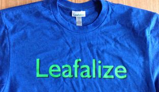 LEAFALIZE soft T-Shirt
