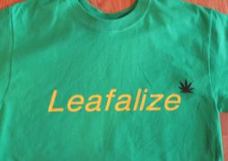 LEAFALIZE Green T-Shirt