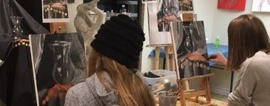 Art School Drawing Painting Acrylics Oils Watercolours Pastels Uxbridge Ontario