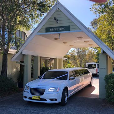 Chrysler 300C at Rafferty's Resort