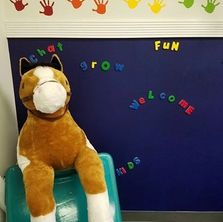Speech Language Pathology in Motion Hauppauge Clinic, therapy room