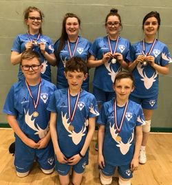 STAGS - Harry Walker (C), Charlie Murphy, Sarah-Jane Caine, Elena Robson, Maddy Murphy, Max Denning