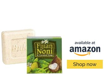 Fijian Noni Soap helps to hydrate, nourish and moisturize dry skin.
