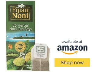 Fijian Noni Herbal Noni Tea, rich in micronutrients & antioxidants to help boost the immune system.