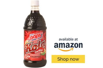 Enjoy Pops Kola Syrup is thirst quenching and made with real cane sugar.