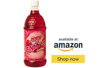 Enjoy Pops Raspberry Syrup is sweet and flavorful. Made with real cane sugar.
