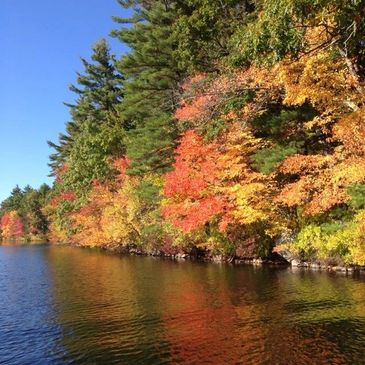 Fall at Little Island Pond
