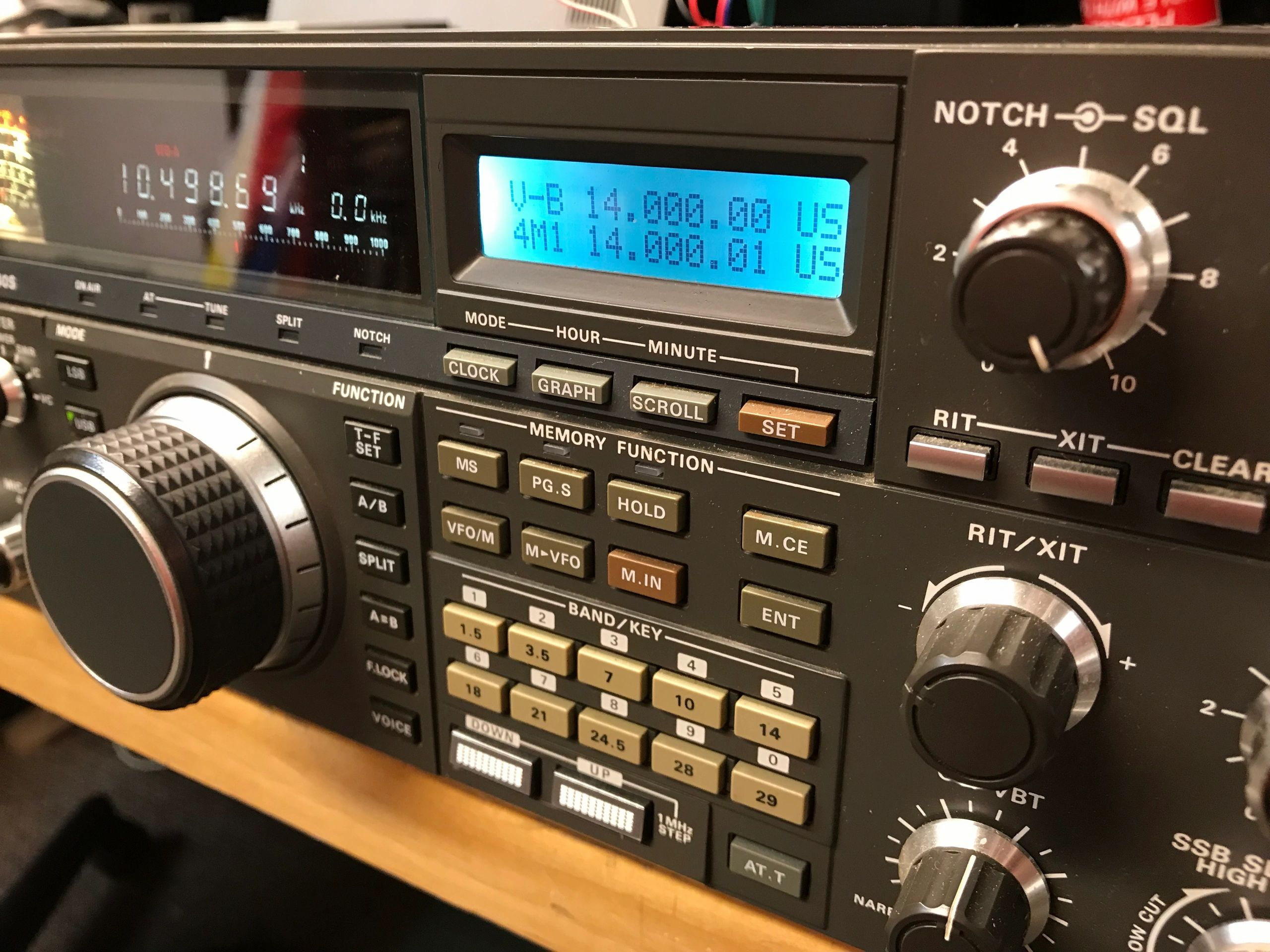 Compudigital Industries Ham Radio Kenwood Repair Receiver Circuit Diagram On Am Transmitter Schematics